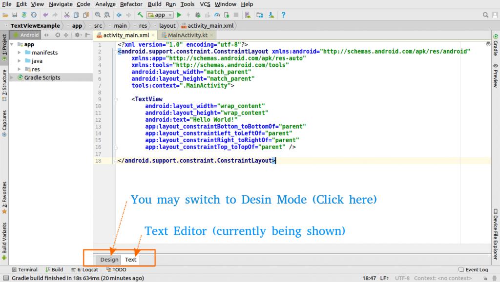 Basic walk through Android Studio IDE