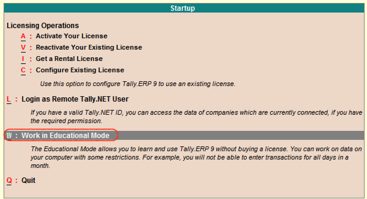 How to Start Tally ERP 9 Software on Computer