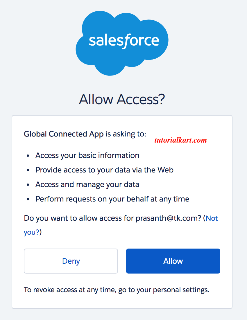 Salesforce Dev Hub login