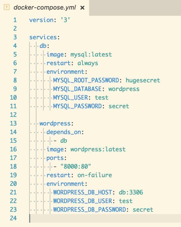 Docker Multi-Container Application Setup