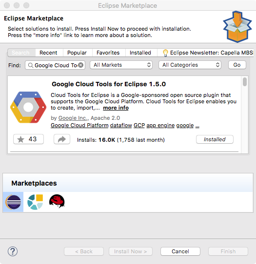 How to deploy JEE applications in Google Cloud