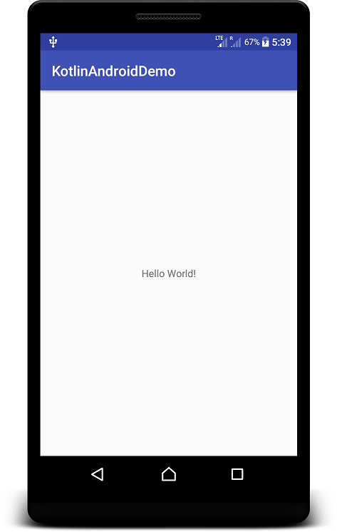 Kotlin Android Application Example