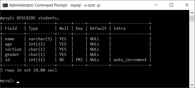 MySQL Change Column Size