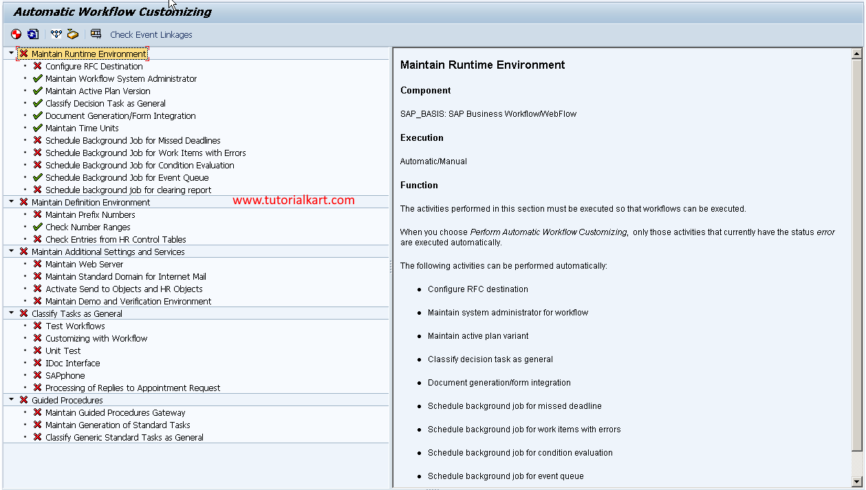 SAP GRC Automatic Workflow Customizing