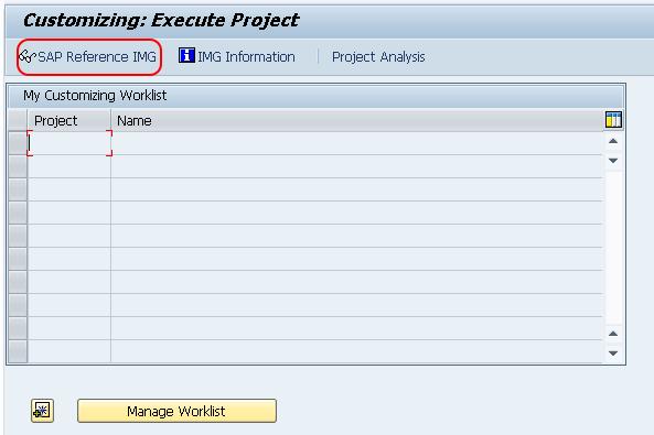 SAP GRC - SAP Reference IMG