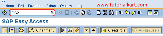 Master Inspection Characteristic tcode in SAP QM