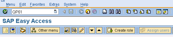 SAP QM - create inspection plan tcode