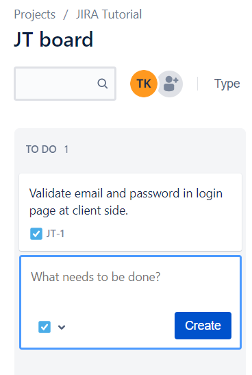 JIRA Tutorial - Create Issue