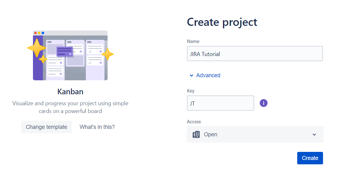 JIRA Tutorial - Create Project
