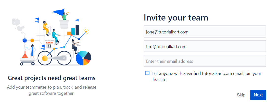 JIRA Tutorial - Invite Team into Project