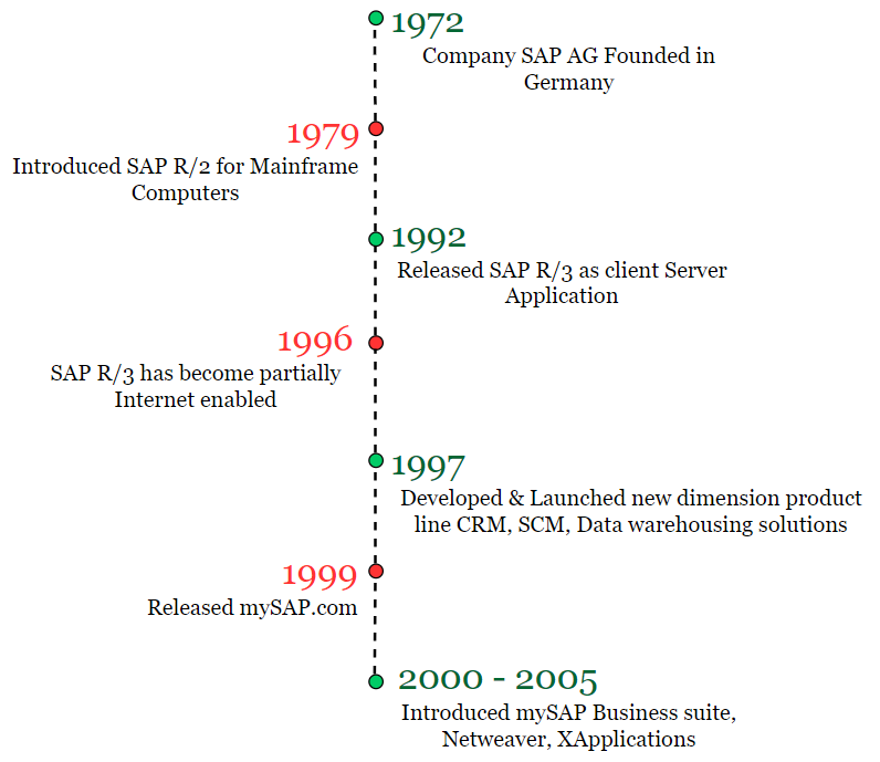 History and Evaluation of SAP