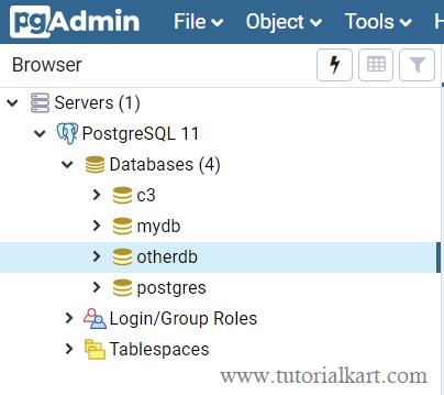 PostgreSQL - GUI - How to Use?