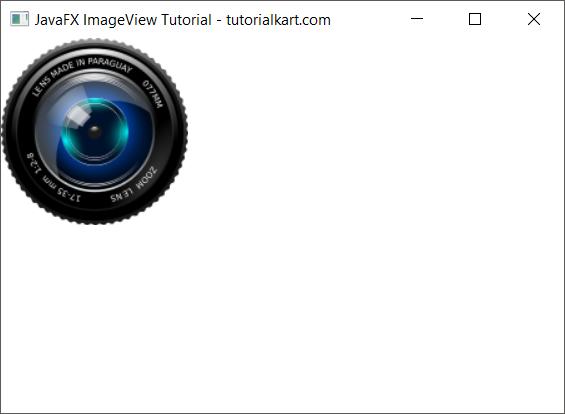 JavaFX ImageView Tutorial