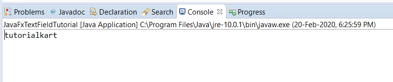 javaFX TextField - Read value entered by user