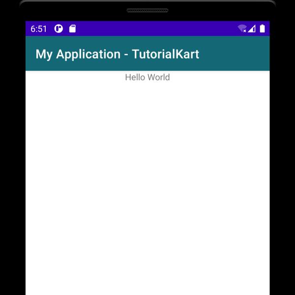 Change Background of Action Bar via Kotlin Activity File
