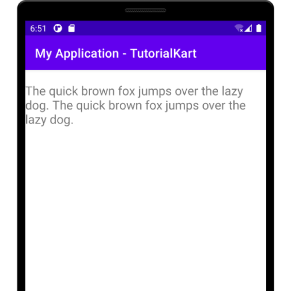 Kotlin Android - Left Align text in TextView
