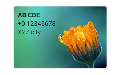 Set Image as Background for Card in Android Compose