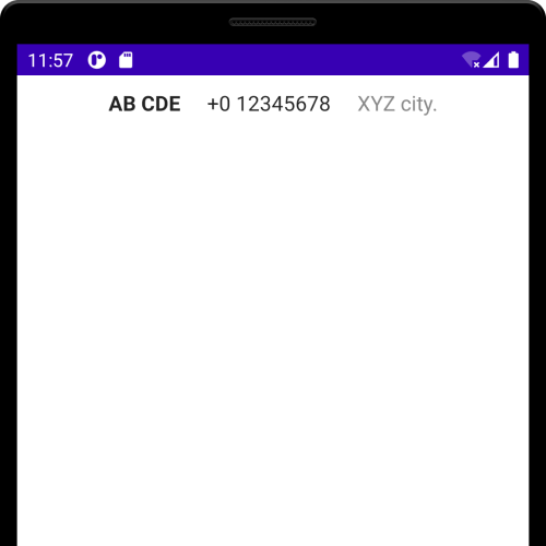 Android Jetpack Compose - Row