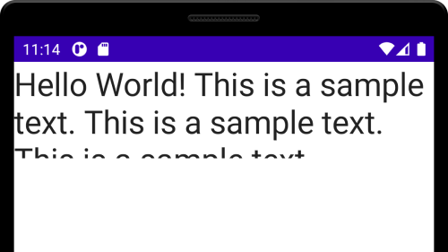 Android Compose - Set Height for Text
