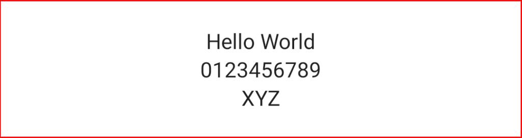Android Compose Column - Align Center Horizontally