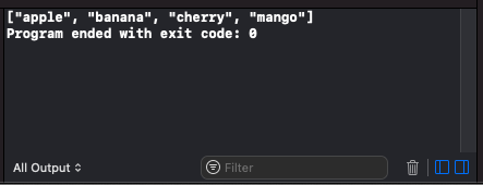 Swift - Append an Element to Array