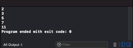 Swift Int Array - While Loop